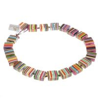 Jackie Brazil Liquorice Half cube necklace in Mix Colours|Oxfordshire Jewellery Boutique